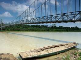 Jembatan Gantung Baru di Banten